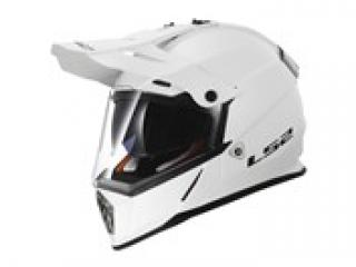 LS2 MX436 PIONEER GLOSS White M