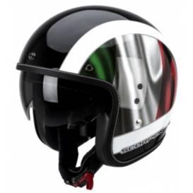 Moto přilba Scorpion BELFAST ROMA-černo zeleno červená 8bb5d8a2c5