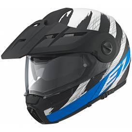 LevneMoto - Moto přilba Schuberth E1 Hunter - modrá