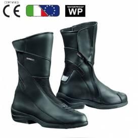 Dámské moto boty FORMA SIMO WP-černé d342885a6a