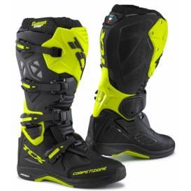 715b389d56a Moto boty TCX COMP EVO MICHELIN®-černo žluté fluo