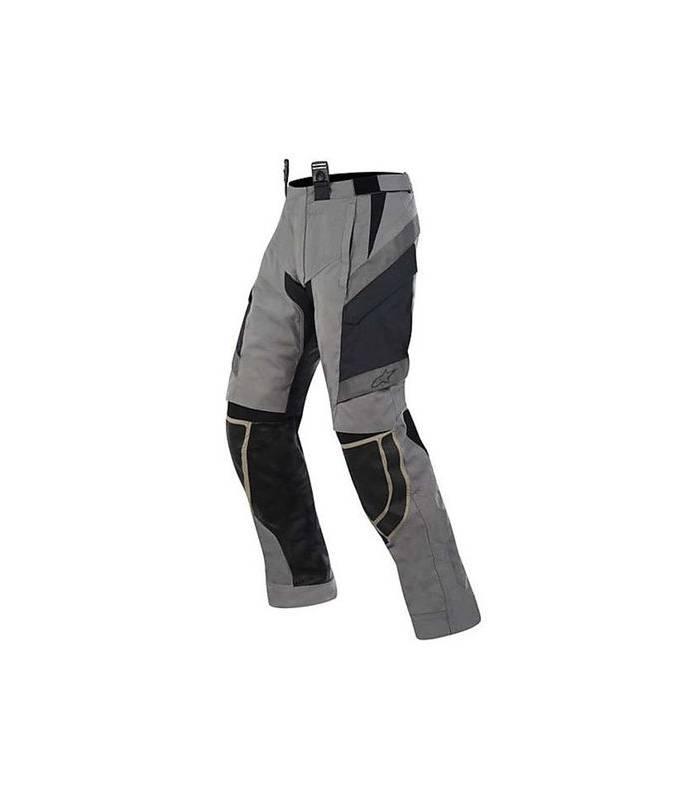 LevneMoto - Kalhoty Durban Gore-Tex, ALPINESTARS - Itálie (šedá/svěle hnědá/černá)