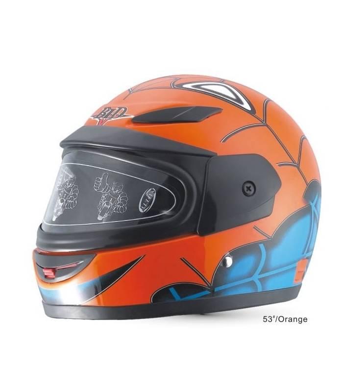 LevneMoto - Moto přilba Sunway Kids Integral S1 Orange