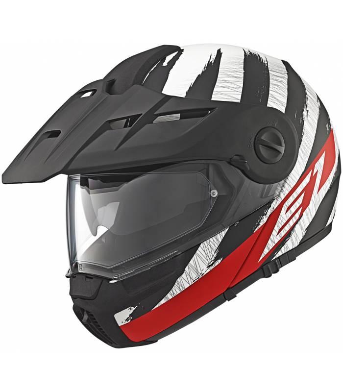 LevneMoto - Moto přilba Schuberth E1 Hunter - červená