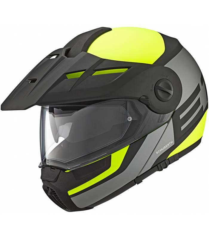 LevneMoto - Moto přilba Schuberth E1 Guardian-žlutá