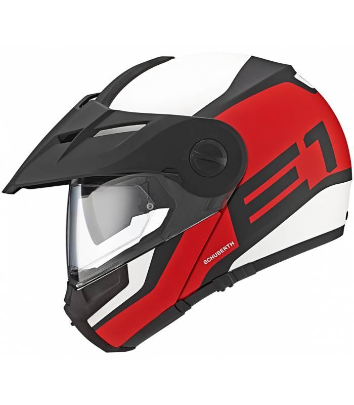 LevneMoto - Moto přilba Schuberth E1 Guardian-červená