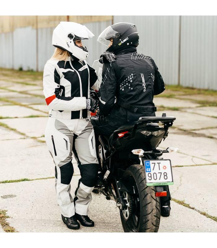 dc680c8f4 ... LevneMoto - Zimní kožené/textilní moto rukavice W-TEC NF-4070 ...